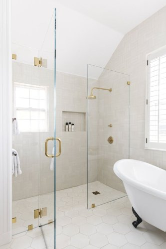 Clear Up the Fog—Here's How to Clean Your Glass Shower Doors