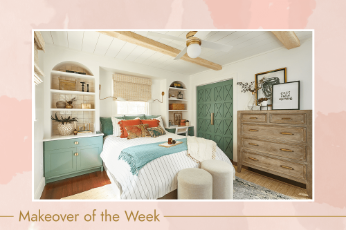 How This Designer Added Major Storage Space to a Bland Bedroom