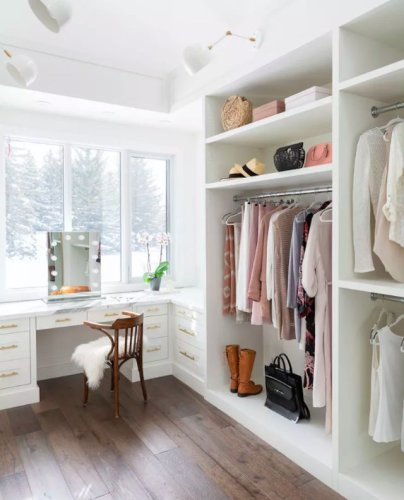 20 Beautiful Closet Design Ideas to Help You Get Ready in Style
