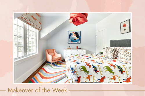 How One Designer Turned a Boy's Bedroom From Boring to Bright