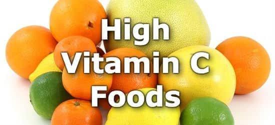 Foods Highest in Vitamin C