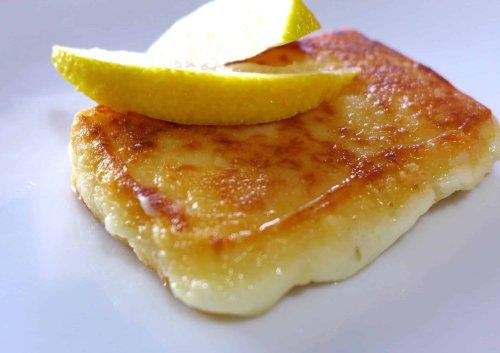Saganaki recipe (Pan-seared Greek cheese appetizer) - My Greek Dish