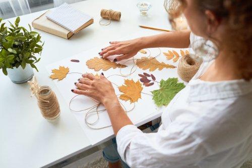 DIY-Herbstdeko mit Materialien aus der Natur