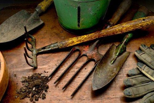 5 altertümliche Geräte für den Garten