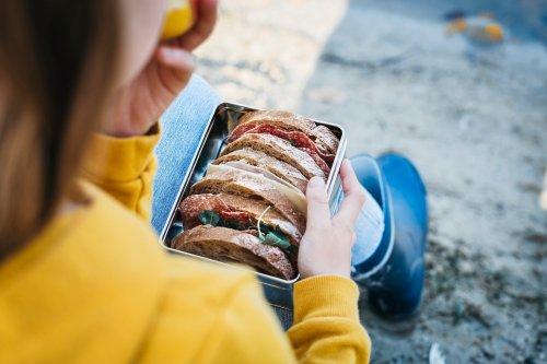 Beste Lösung: Brotbox schlägt Alufolie und Brotpapier