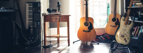 Practical home music room ideas for an ardent musician