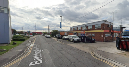 Croydon business badly damaged in 'fire-bomb' attack