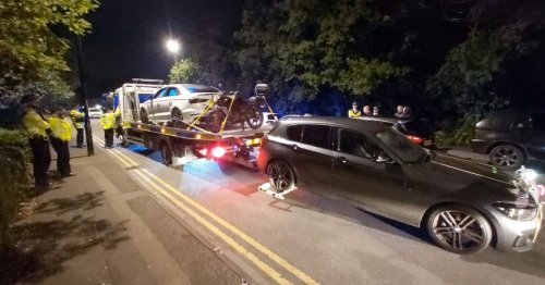 Police seize 21 cars at 'Fast and Furious' style South London meet
