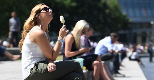 7-day mini-heatwave forecast in London with no sign of even a drop of rain