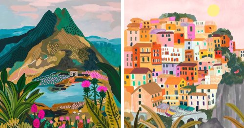 Travel-Loving Artist Creates Dreamy Illustrations That Will Inspire Wanderlust in You