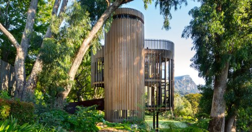 Playful Contemporary Treehouse Designed in the Shape of a Tree