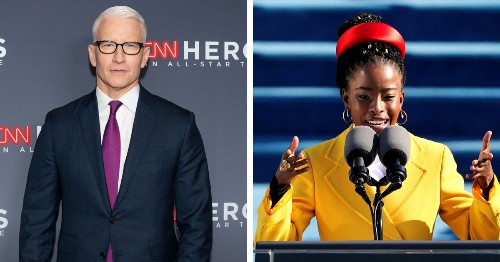 CNN's Anderson Cooper Is Left Speechless in Interview With Amanda Gorman Post-Inauguration