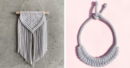 20+ Macramé Kits and Tutorials That Will Help You Create Your Own Knotted Art