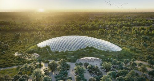 The World's Biggest Greenhouse Is Introduced at the 2021 Venice Biennale
