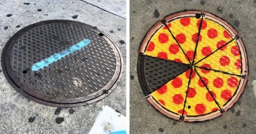 Street Artist Transforms Ordinary Landscapes Into a Playful World Full of a Colorful Cast of Characters