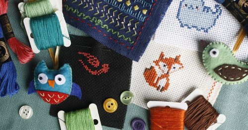 25+ Free Cross-Stitch Patterns That You Can Start Sewing Right Now