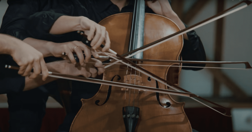 Watch Four Talented Musicians Use Only One Cello to Play a Difficult Classical Piece