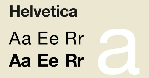 """How Helvetica Became the """"Little Black Dress"""" of Typography"""