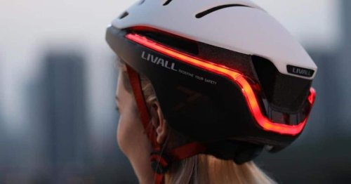 Smart Helmet Designed With Style and Safety for Hi-Tech Cyclists
