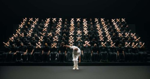 Watch a Mesmerizing Hand Ballet Performed for the 2020 Paralympics Hand Off Ceremony