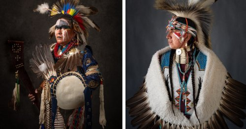 Powerful Portraits of Native Americans Highlight Their Spirit and Cultural Identity [Interview]