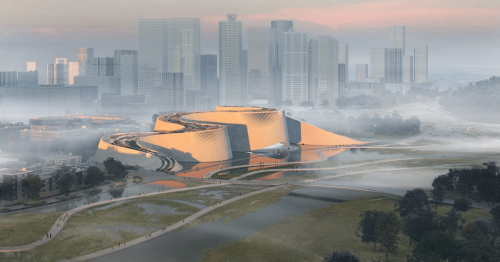 Shenzhen's New Natural History Museum Mimics the Flow of the Nearby River