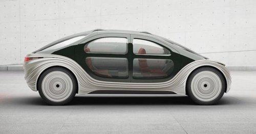 Cette voiture électrique futuriste est conçue pour purifier l'air environnant