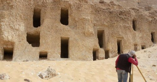 Archeologists Accidentally Discover 250 Rock-Cut Tombs in Egypt