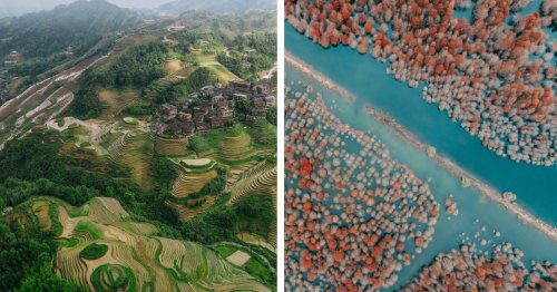 Travel Photographer Uses a Drone To Explore China's Diverse Landscape From Above