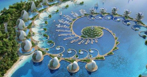 Architects Design a Conceptual Zero-Energy, Zero-Waste Eco-Resort in the Philippines