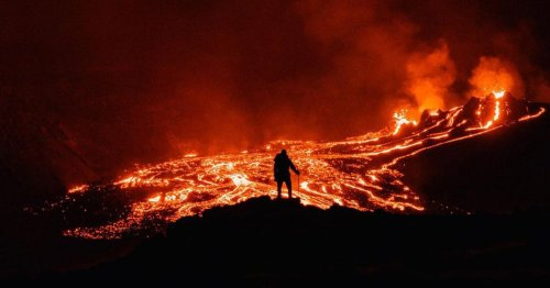 Icelandic Volcano Erupts After 6,000 Years of Inactivity With a Spectacular Show