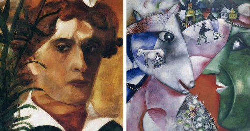 5 Famous Marc Chagall Paintings That Will Mesmerize You With Their Dreamlike Beauty