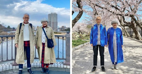 Japanese Couple Shows Their Love for One Another by Wearing Matching Outfits