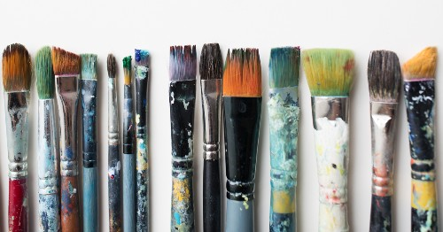 All About Paintbrushes: What Type to Use and How to Clean Them