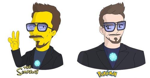 Illustrator Recreates Celebrities in 9 Different Cartoon Styles