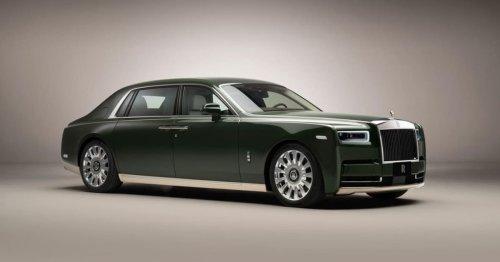 Rolls-Royce and Hermès Collaborate on Luxurious Bespoke Phantom