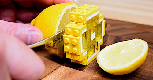 Enchanting Animations Use LEGOs as the Ingredients for Entire Meals and Desserts