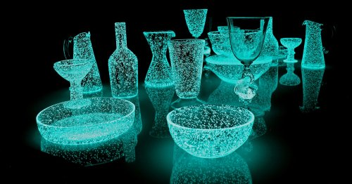Luminous Glass Sculptures Come to Life With Human Interaction