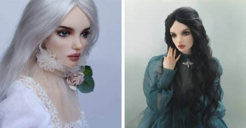 These Ethereal Dolls Are Painted and Posed To Look Just Like Real Women