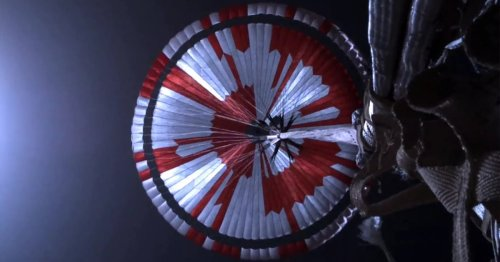 Internet Geniuses Solve the Secret Message Hidden in NASA's Mars Perseverance Rover's Parachute