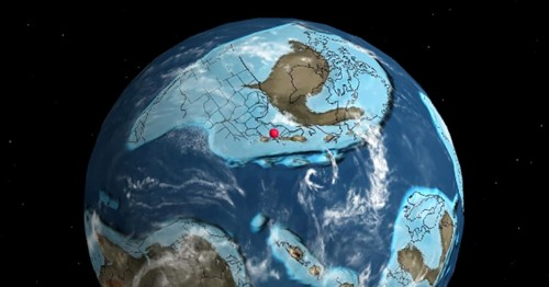 Interactive Map Reveals How Your Hometown Moved Over Earth During Millions of Years