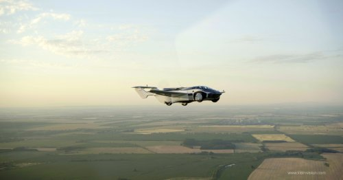 A Real Flying Car Just Completed Its First Inter-City Flight