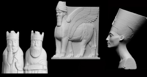 You Can Now Download and 3D Print 18,000 Famous Sculptures and Artifacts