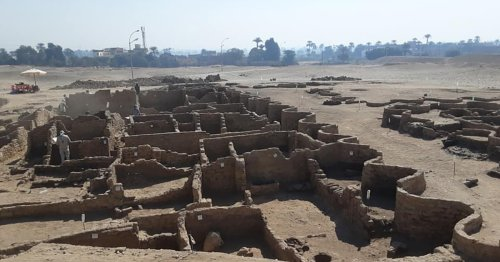 """""""Lost Golden City"""" Discovered in Egypt Gives a Glimpse Into the Lives of Ancient Pharaohs"""