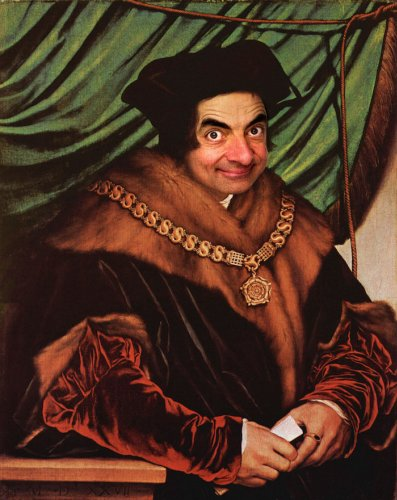 Mr. Bean Hilariously Inserted into Historical Paintings