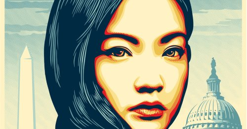 Powerful New York Times Ad Featuring Shepard Fairey Illustration Asks Us All To Fight for AAPI Visibility