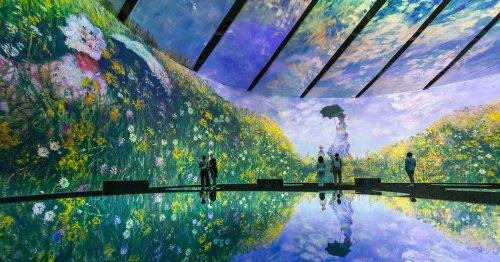 Immersive 'Beyond Monet' Exhibit Lets Visitors Walk Through 50,000 Square Feet of Impressionism