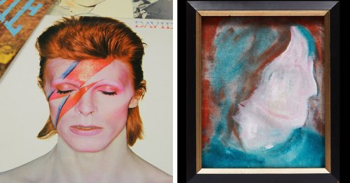 Thrift Store Painting Bought for $4 Is Actually by David Bowie and Now Going Up for Auction