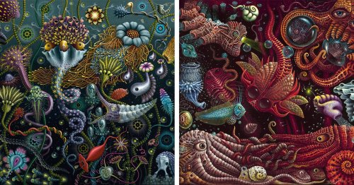 Elaborate Paintings Capture the Beautiful Mystery of Diverse Ecosystems