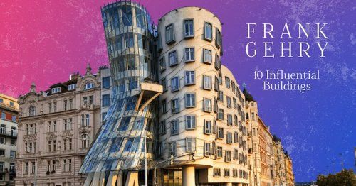 10 Influential Buildings by Postmodern Architect Frank Gehry [Infographic]